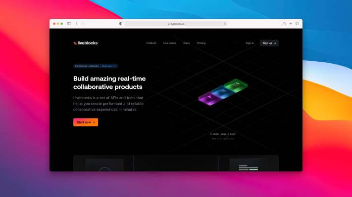 Liveblocks is an API that lets you add real-time collaboration to your product – TechCrunch