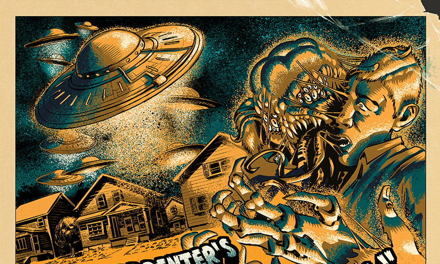 [Exclusive] Movie-Style Poster Previews the Story John Carpenter Wrote for New Comic 'Tales For a HalloweeNight Vol. 7'!