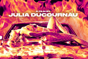 Official Poster for Julia Ducournau's 'Titane' Goes Up in Flames