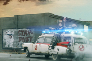 Our Old Pal Stay Puft Appears on the Latest 'Ghostbusters: Afterlife' Poster