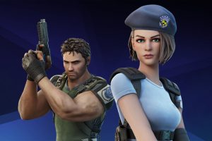 Jill Valentine And Chris Redfield of 'Resident Evil' Make The Jump to 'Fortnite'!